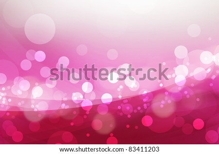 Abstract background bokeh in purple and pink tones - stock photo