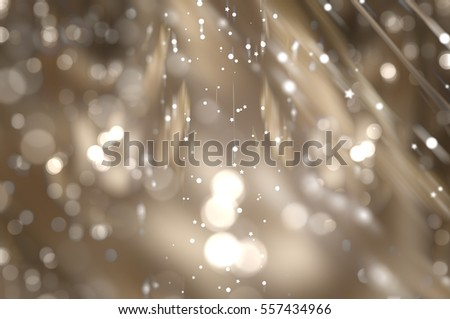abstract background brown bokeh circles. Beautiful background with particles. elegant illustration