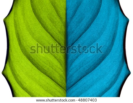 Abstract background(colored leaf)