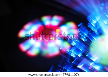 Abstract background colorful light