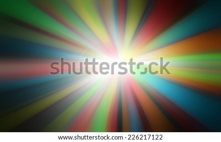 Abstract background colorful radial gradient effect