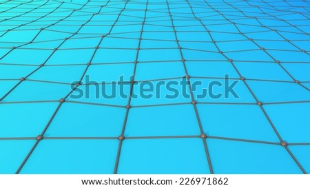 Abstract background consisting of square segments