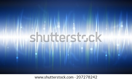 abstract background. digital blue light Equalizer background
