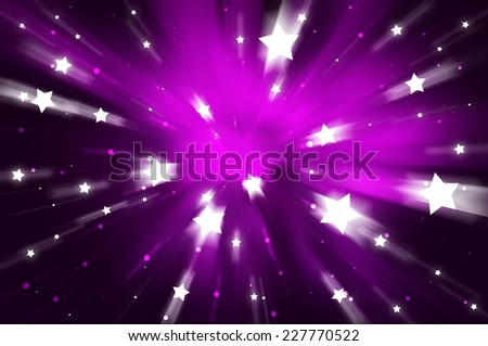 abstract background. explosion star on pink - stock photo