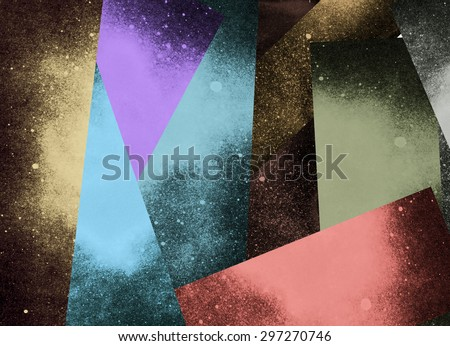 Abstract background for text. Retro poster. Retro style - stock photo