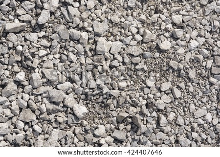 Abstract background from crushed stones