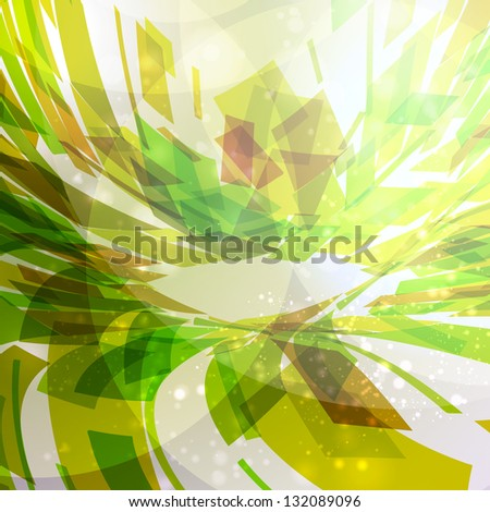 Abstract  background, futuristic illustration