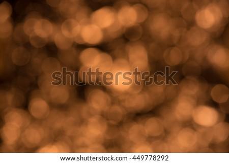 abstract background gold bokeh circles - stock photo