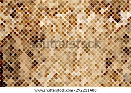 abstract background gold bokeh circles. Christmas background.