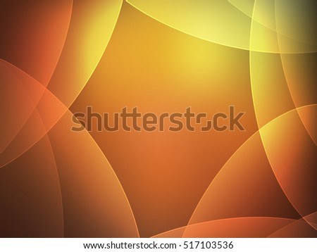 Abstract background gold color line