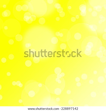 abstract background, gold glowing lights. Bokeh lights across sunny background with light rays - stock photo