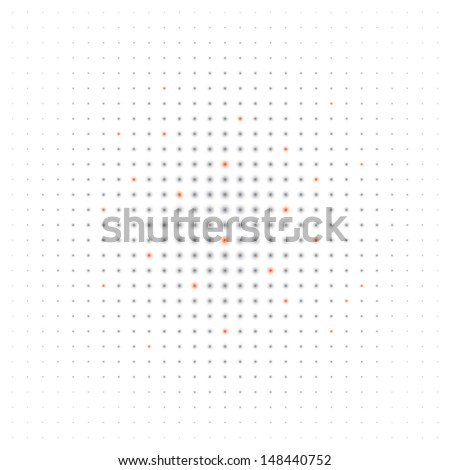 abstract background halftone effect(vector version also available in my gallery) - stock photo