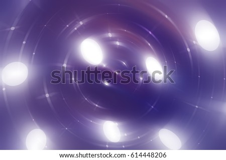 abstract background illustration digital with brilliant violet circles.