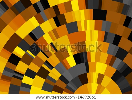 Abstract background illustration in halloween colors.