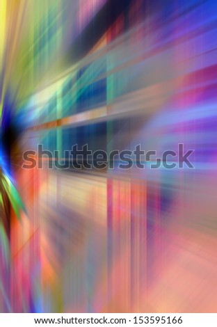 Abstract background in blue, purple, green and orange colors. - stock photo