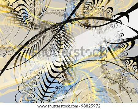 Abstract background in pearly shades - stock photo