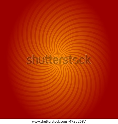 Abstract background in red and orange colors - stock photo