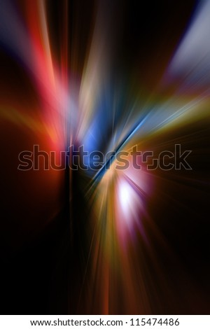 Abstract background in red, blue and black colors. - stock photo