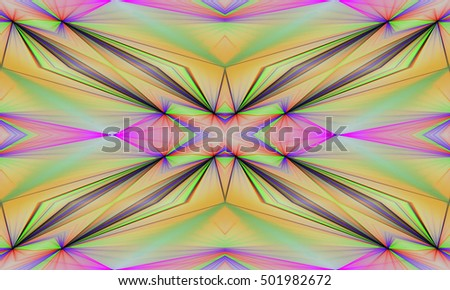 Abstract background Laser light multicolored for design, pattern cross