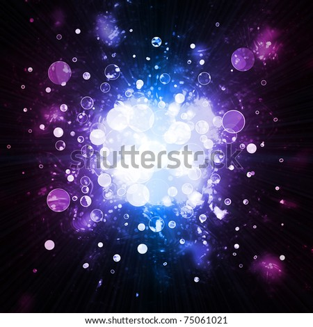 abstract background - lights - stock photo