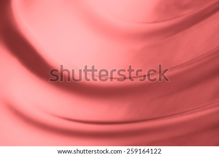 abstract background luxury cloth or liquid wave or wavy folds of grunge peach silk texture satin velvet material or luxurious - stock photo