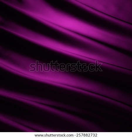 abstract background luxury cloth or liquid wave or wavy folds of grunge purple silk texture satin velvet material or luxurious - stock photo