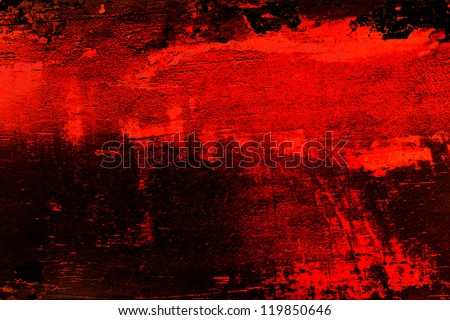 Abstract background made of colored shapes and lines - stock photo