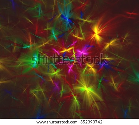 Abstract background made of fractal textures.