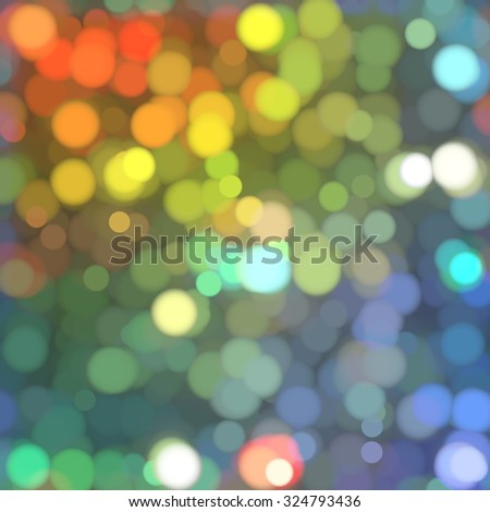 abstract background multicolored bokeh circles. Beautiful background with particles.
