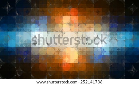 abstract background.multicolored mosaic - stock photo