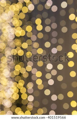Abstract background of color light bokeh