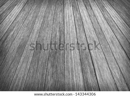 Abstract background of Creative Wood in black and white vintage color - stock photo
