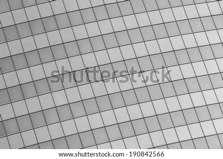 Abstract background of glass building`s windows - stock photo