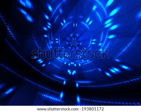 Abstract background of lines and numbers  - stock photo
