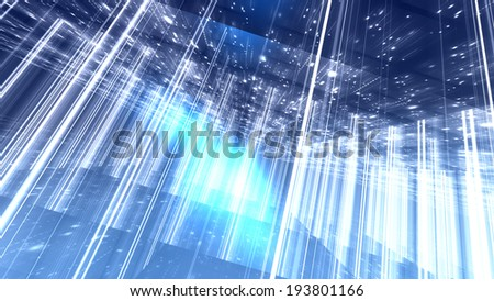 Abstract background of lines and planes  - stock photo