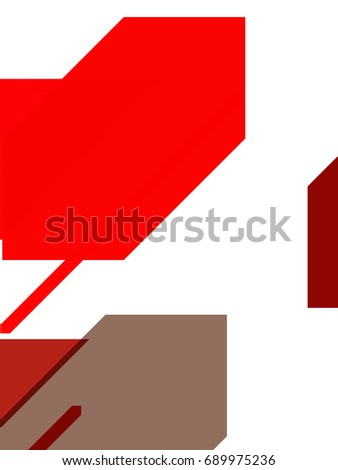 Abstract background of minimalist design. Geometric creative concept illustration.