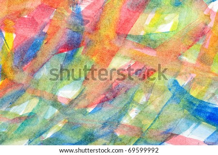 Abstract background of paints