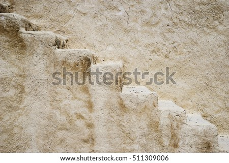 Abstract background of stone stairs