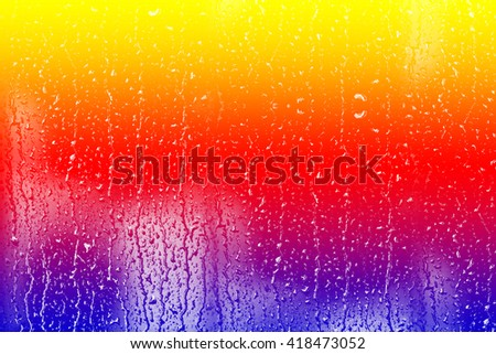 Abstract background of water drops. Texture of water. - stock photo