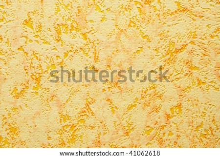abstract background of yellow plastic, texture - stock photo