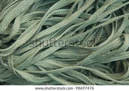 abstract background old rope close up