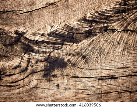 abstract background or texture Detail of an old weathered oak plank