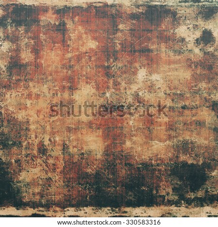 Abstract background or texture. With different color patterns: yellow (beige); brown; red (orange); black - stock photo
