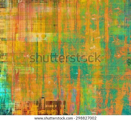 Abstract background or texture. With different color patterns: yellow (beige); green; blue; red (orange) - stock photo