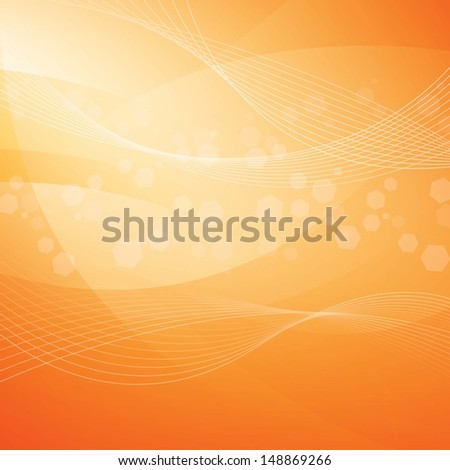 abstract background orange