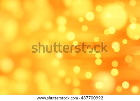 abstract background orange bokeh circles. Background with particles. illustration beautiful.