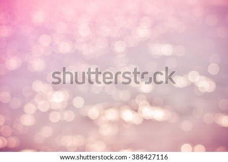 Abstract background pink bokeh. manual focus.Photo process vintage style. - stock photo
