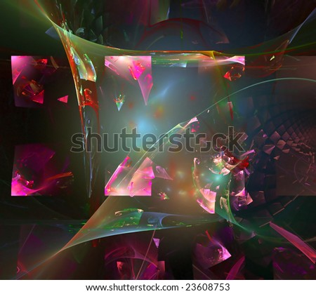 Abstract background. pink palette. raster fractal graphics.