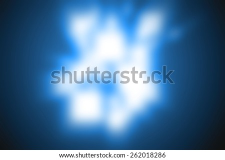 Abstract background rays blue colour-blur - stock photo