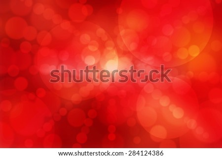 abstract background red bokeh of a circles - stock photo